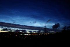 Nachtleuchtende Wolken am 5. Juli 2020 (Foto: Peter Stolzen)