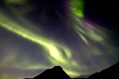Polarlicht über Island 2017  (Foto: B.R., Sternwarte Hagen)