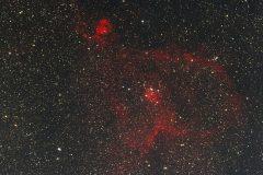 Herznebel IC1805 im Sternbild Kassiopeia (Foto: Kamila Cymorek)