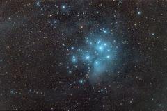 Messier 45 (Pleiaden) im Sternbild Stier (Foto: Norbert Mrozek)
