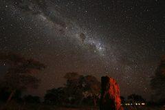 Milchstrasse über Namibia (Foto: B.R., Sternwarte Hagen)