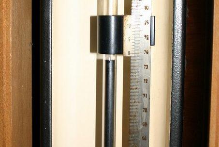 Quecksilber-Barometer (Foto: Marcel Klein)