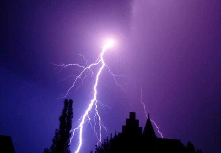 Gewitter über Hagen (Foto: Günter Röttler)