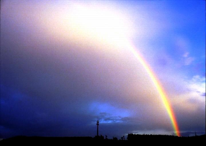 Regenbogen (Foto: Günter Röttler)