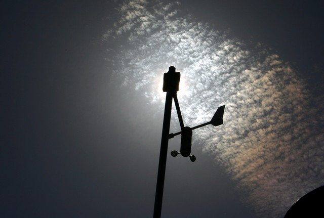 Windsensoren (Foto: Marcel Klein)