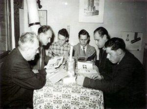 Die Anfänge der Sternwarte (Foto: Archiv)