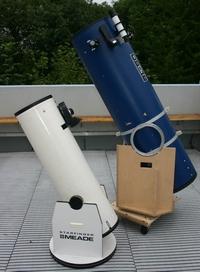 Dobson-Teleskope (Foto: Marcel Klein)