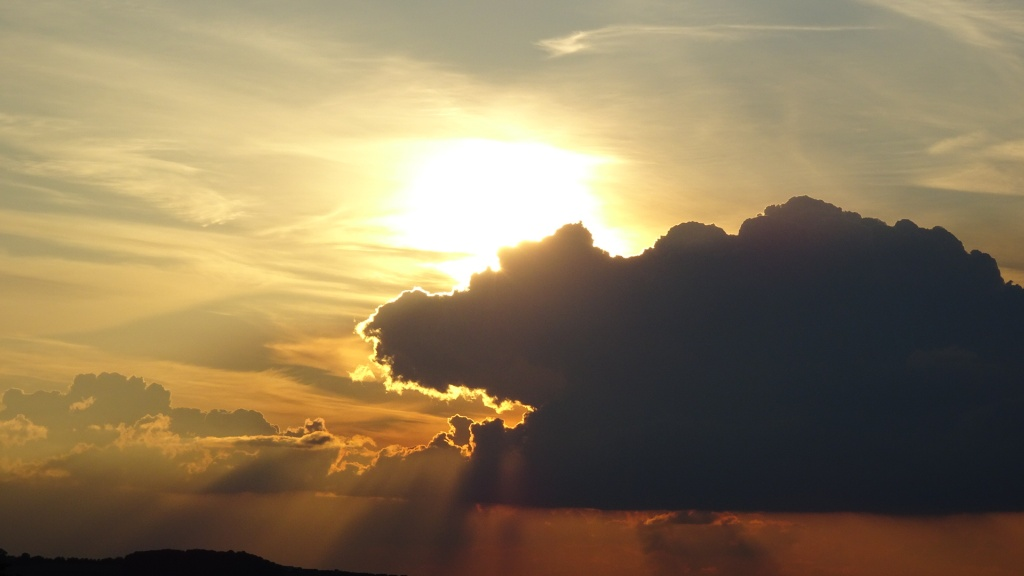 Wolkenstimmung (Foto: Anja Krause)