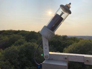 Sonnenscheinsensor (Foto: Bastian Rissling)