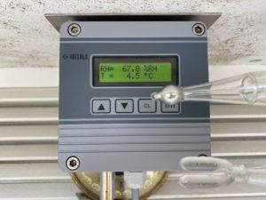 Temperatur- und Luftfeuchtigkeitssensor (Foto: Bastian Rissling)